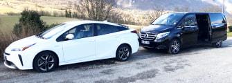 Allo VTC Grenoble alternative au taxi a Grenoble avec chauffeur prive ecologique
